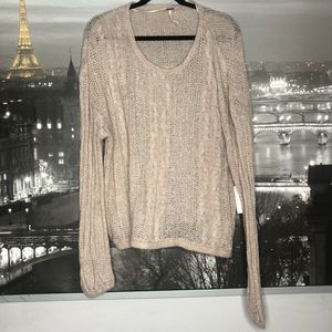 Free People  Angel Super Soft Pullover Sweater